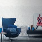 Sofakissen Blau – Samt