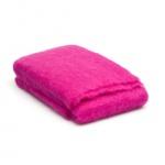 Mohairdecke Pink – Hellrosa