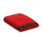 Wolldecke Rot – Mohair