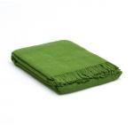 Plaid – Wolldecke Grün