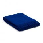 Wolldecke – plaid – blau – dunkelblau