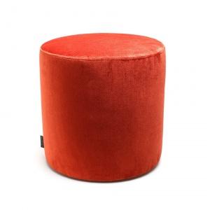 Sitzhocker rund Orange