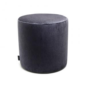 Sitzhocker Blau rund