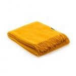 plaid gelb wolldecke